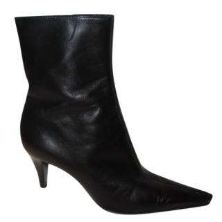 Sergio Rossi black ankle boots