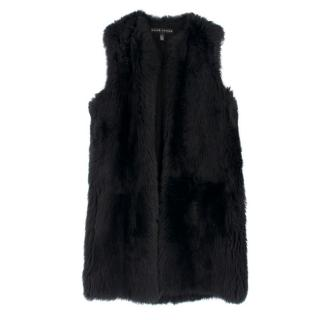 Ralph Lauren Black Label Lamb Shearling Gilet