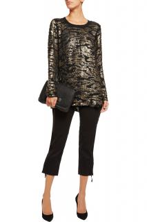 Isabel Marant Fedilon Sequin Silk Tunic Top