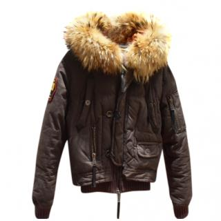 Dsquared2 fighting dudes down jacket