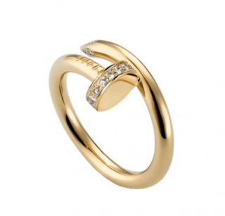 Cartier Yellow Gold & Diamond Juste Un Clou ring - Box & Papers