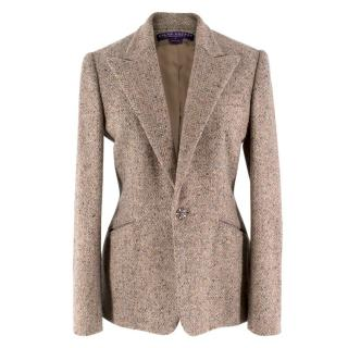 Ralph Lauren Collection Cashmere & Wool Tweed Jacket