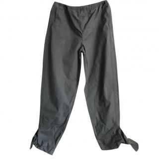 Marni Lightweight Bow Cuff Trousers
