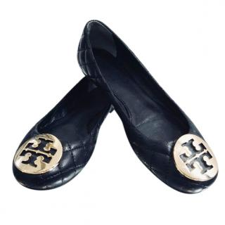 Tory Burch Quilted Ballet Flats