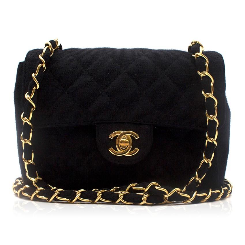 23f2324b52d Chanel Jersey Mini Flap Bag