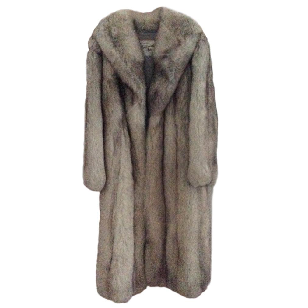 Bespoke Fox Fur Long Coat