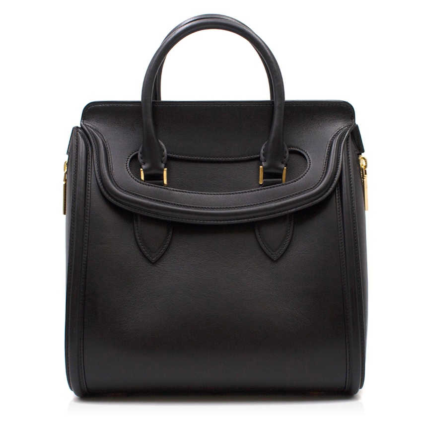 Alexander McQueen Heroine Medium Leather Tote