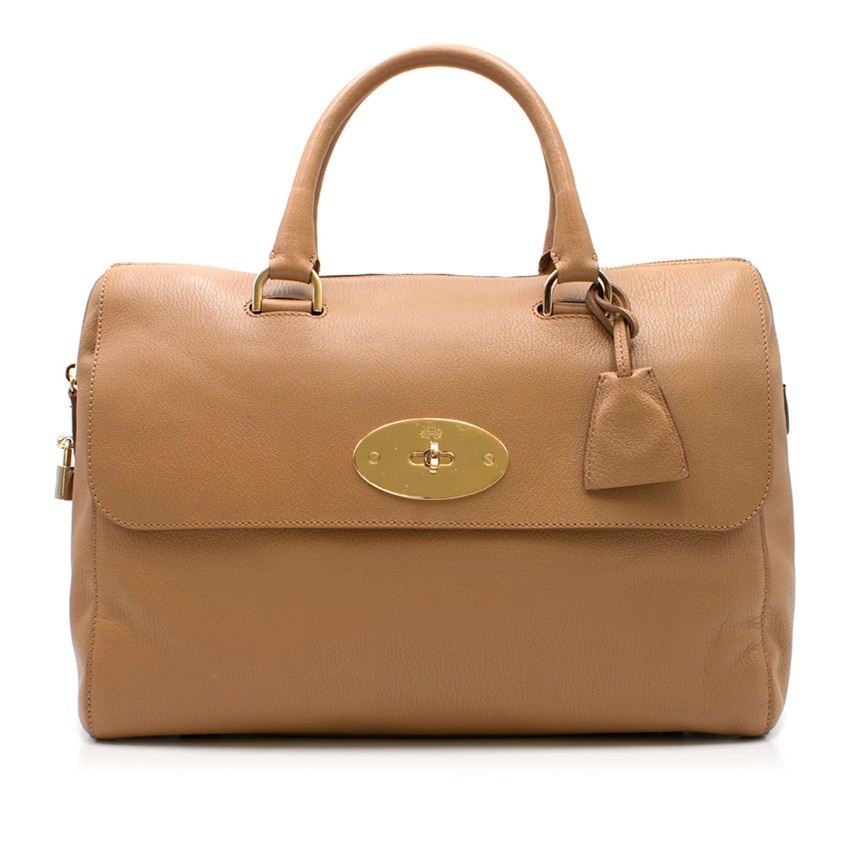 Mulberry Brown Del Rey Bag