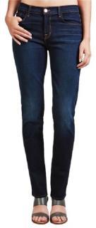 J-Brand straight leg mid-rise jeans
