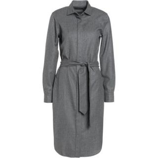 Polo Ralph Lauren Dark Grey Long Sleeve Buttoned Shirt Dress