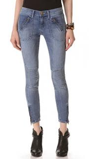 Current Elliot The Moto Stiletto Jean