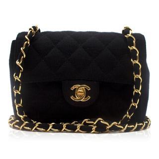 Chanel Jersey Mini Flap Bag