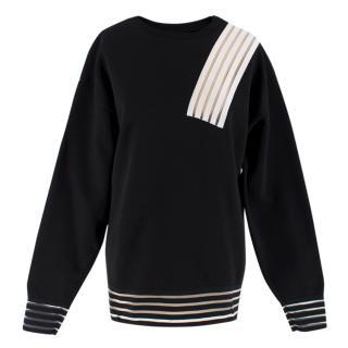 Christopher Kane Colour Block Neoprene Sweatshirt