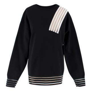 Christopher Kane Colour Block Neoprene Sweatshirt