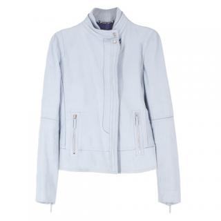 be04a407068 Gucci Blue Leather Jacket