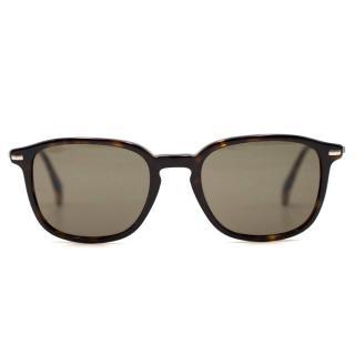 Giorgio Armani Black Square Sunglasses