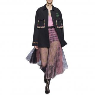 Dior SS18 runway beaded jacket