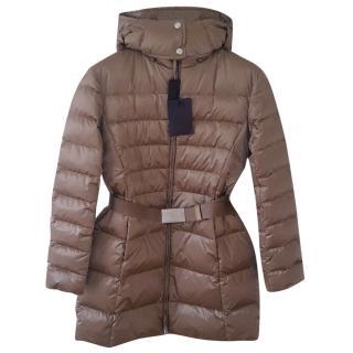 Prada goose down padded coat with hood