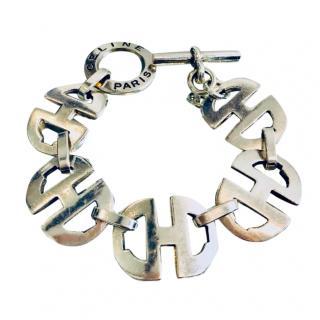 Celine Solid Silver Bracelet