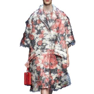 Dolce & Gabbana Catwalk Fil Coupe Coat