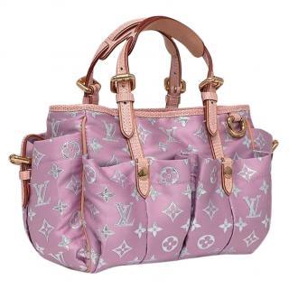 Louis Vuitton Cabas Limited Edition Pink/Silver Monogram