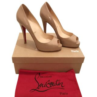 Christian Louboutin Nude Very Prive Pumps