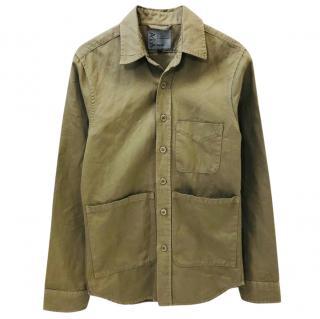 Apesi Camel Cotton Shirt