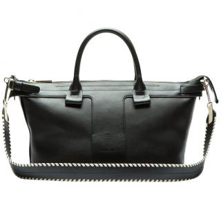 Theory T Bar Bag W/ Whipstitch Strap