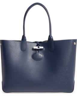 Longchamp Roseau leather tote bag