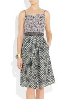 ROLAND MOURET Marian printed dress
