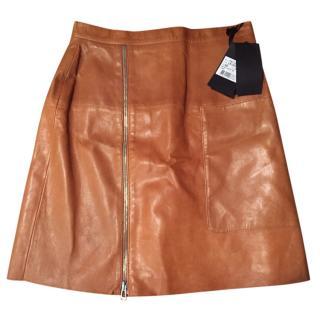 Belstaff leather skirt