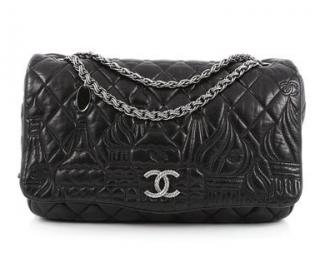 Chanel Black Jumbo Moscow Flap Bag