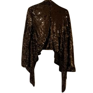 2nd Day Waterfall lightweight sequin jacket