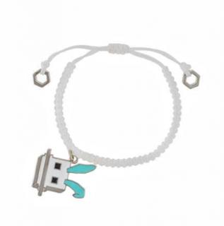 MCQ Electro Bunny Friendship Bracelet