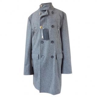 John Richmond Men's Wool Coat