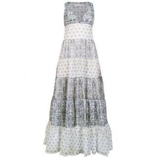 Pierre Balmain Silk Paisley Maxi Dress