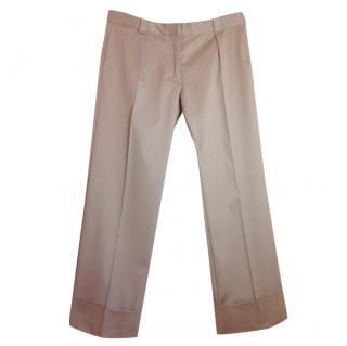 Acne beige trousers