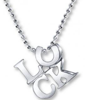 Alex Woo Luck Pendant Necklace