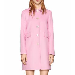 Gucci wool light violet coat
