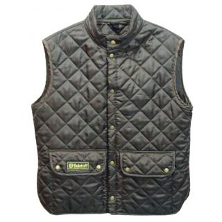Belstaff Men's Brown Diamond Quilted Gilet