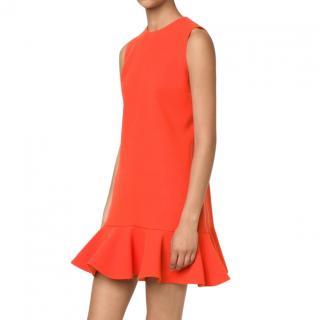 Victoria Victoria Beckham flounce mini dress
