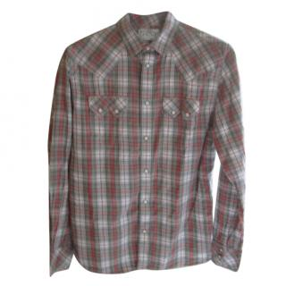 Levi's Tartan Wild West Style Shirt