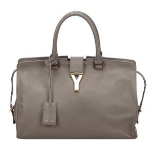 Saint Laurent grey macho tote bag