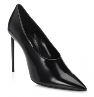 Saint Laurent Black Teddy Pumps - Current Season