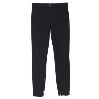 Tom Ford Zip-Hem Skinny-Fit Stretch Trousers