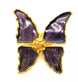 Yves Saint Laurent Vintage Butterfly Brooch