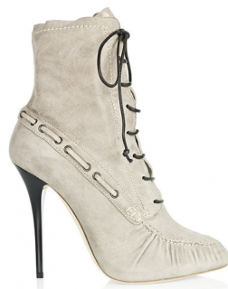 Giuseppe Zanotti Lace-up suede ankle boots