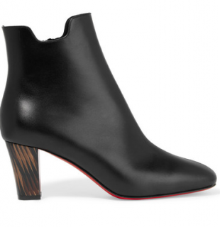 Christian Louboutin Tiagada 70 leather ankle boots