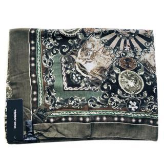 Dolce & Gabbana Men�s Sicily print scarf