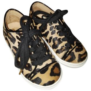 Charlotte Olympia girl's incy trainers
